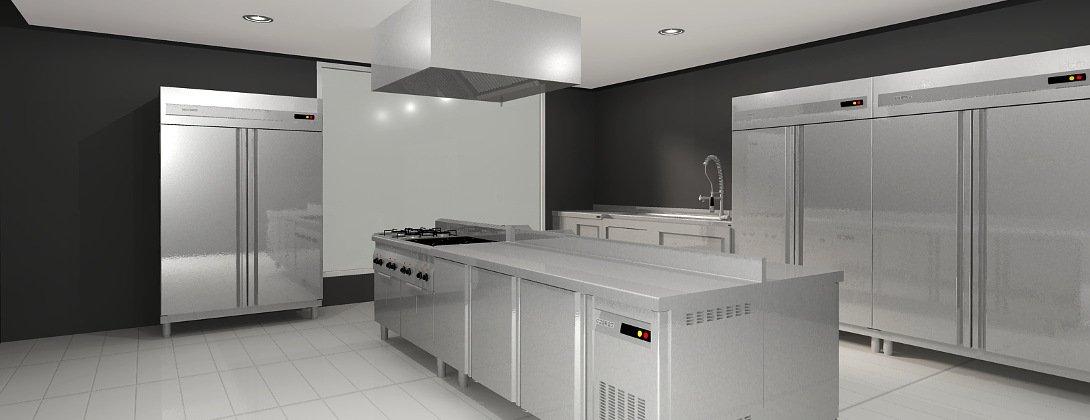 Autodecco produits caract ristiques principales de for Planos de una cocina industrial